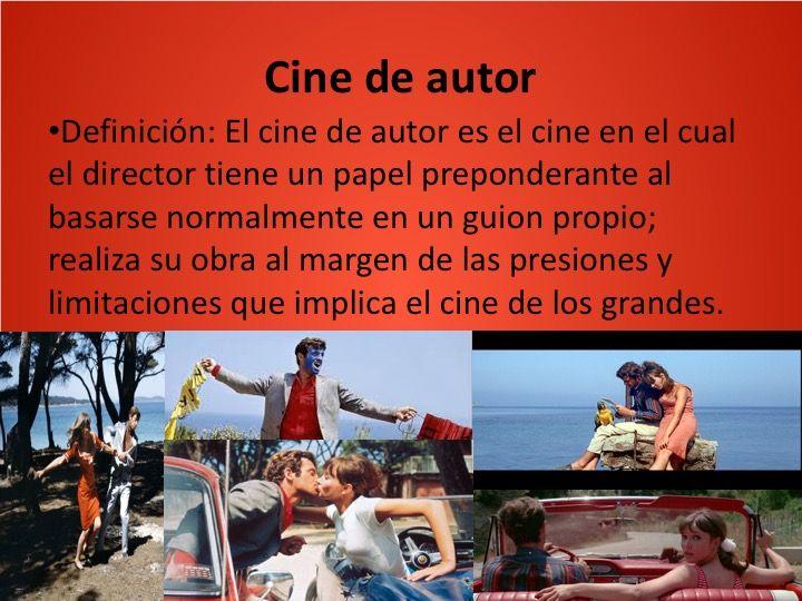Cinema Comercial E Cinema De Autor Cined